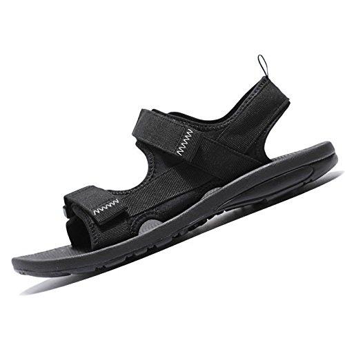 uomo estivi trekking scarpe scarpe antiscivolo da da casual WFL Nero Sandali da spiaggia scarpe casual pqxPET