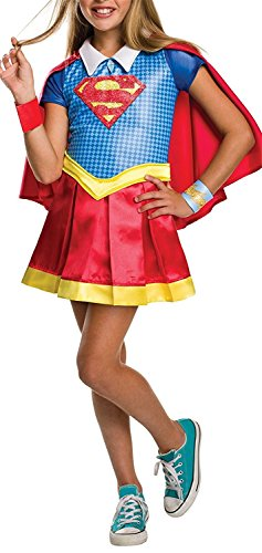 Ivan Johns Costume Kids DC Superhero Girls Deluxe Supergirl Costume, Medium