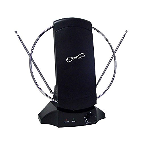 Supersonic SC605 High Quality Durable HDTV Indoor Antenna