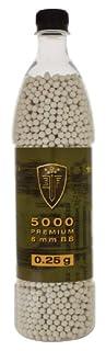 Munición Elite Force Premium 6mm Airsoft BBs, .25 gramos, 5000 unidades