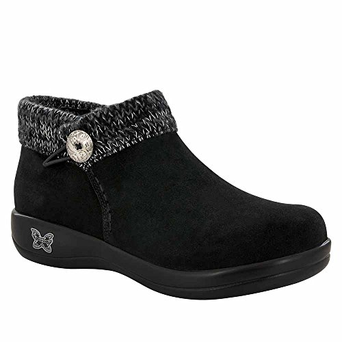 Alegria Womens Sitka Ankle Boot Black Silver Size 38 EU (...