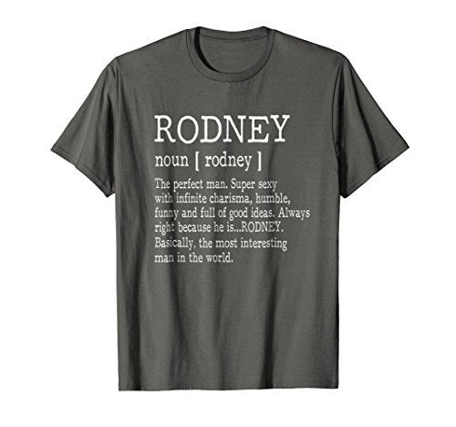 Mens Adult Definition - First Name Rodney Men T-Shirt Funny Medium (Rodney Tee Shirt)