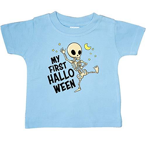 inktastic - My First Halloween- Dancing Baby T-Shirt 18 Months Light Blue 36897