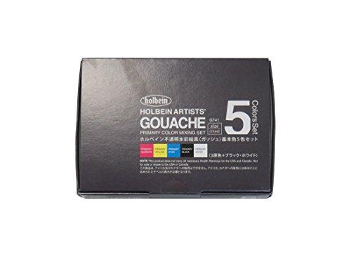 gouache paint set - 9