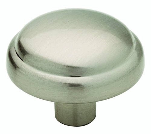 (Franklin Brass P13545K-SN-C Mushroom Kitchen Cabinet Drawer Knob, Single, Satin Nickel)