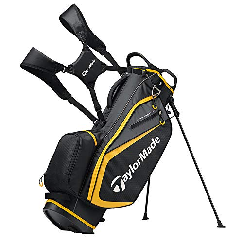 TaylorMade 2019 Golf Select Stand Bag, Black/Gold ()