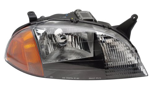 91175607 Headlamp - Eagle Eyes GM299-A001L Chevrolet Driver Side Head Lamp