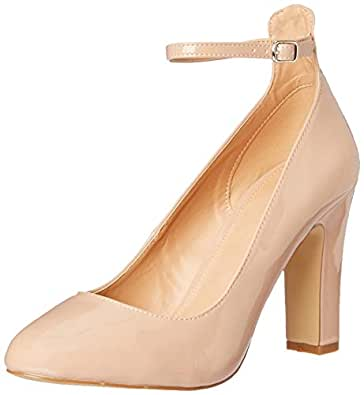 Novo Women's Imelda Court Shoes, Nude Patent, 10 AU