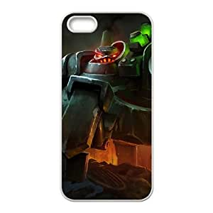 iPhone 5 5s Cell Phone Case White League of Legends Battlecast Urgot SH3999753