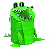 RedmonUSA Redmon for Kids The Original Bongo Bag Alligator Pop Up Hamper, Green