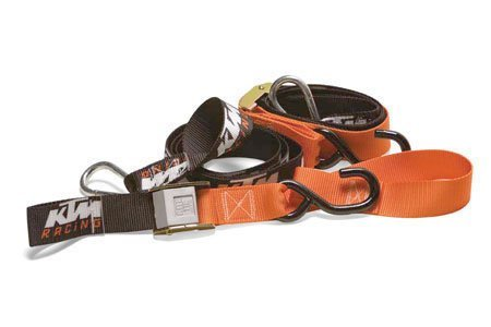 KTM New Soft TIE Downs with Clips U6910047