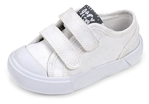 Garvalín 172806, Zapatillas Unisex Niños Blanco (White /     Lona )