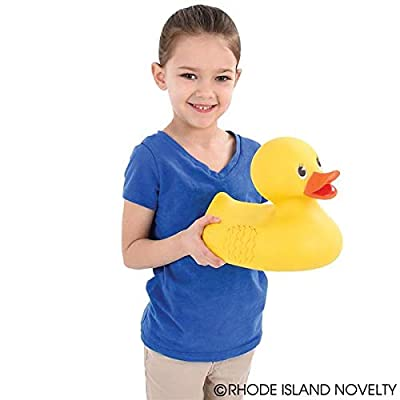 Rhode Island Novelty 10 Inch Classic Style Rubber Duck ONE Per Order: Toys & Games