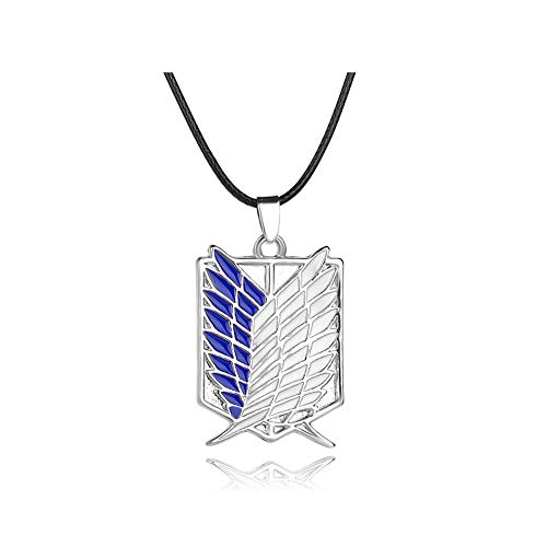Dual Wing (OLIA DESIGN OliaDesign Attack on Titan Dual Wing Pendant Necklace)