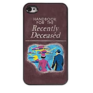 ZL Hand Book Design Aluminum Hard Case for iPhone 4/4S