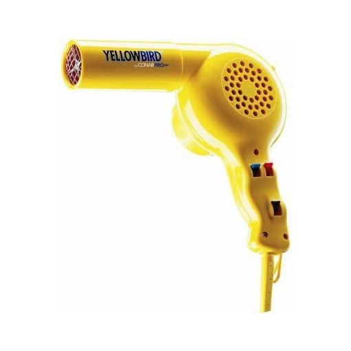 Conair YB075W Yellowbird 1875 Watt Professional Hair Dryer - 41bMql3XuSL - Conair YB075W Yellowbird 1875 Watt Professional Hair Dryer