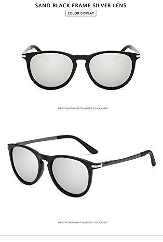 Hombre Gafas 400 Sol C2 Polarizadas Protección Mujer para UV para C7 Aviator De rCUqaxw0CT