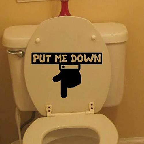 Krisdeer Pose-moi des autocollants de toilette