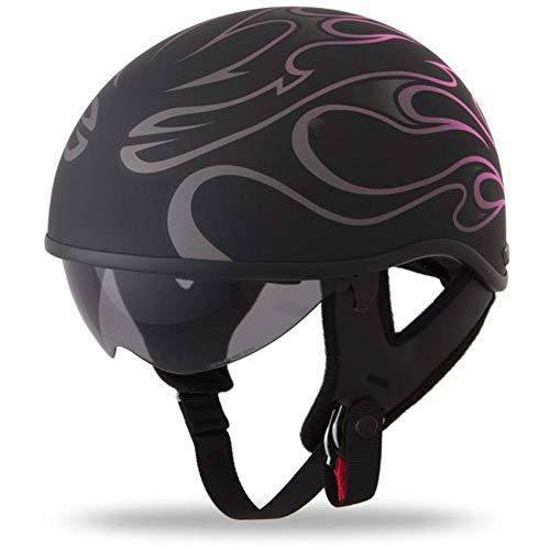 Fly Racing .357 Helmet - Flame (X-Large) (Pink)