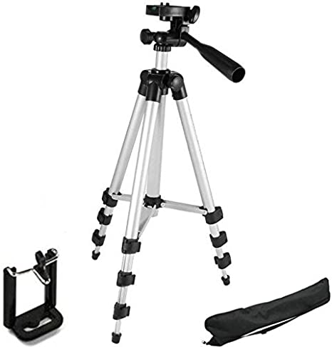 67033dfd6 Buy Tygot Syvo 3110 Portable   Foldable Camera with Tripod and Mobile Clip  Bracket(Black
