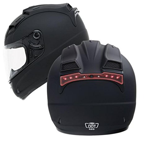 G-Max LED Lens Cover for GM68 Helmet - Red 999954