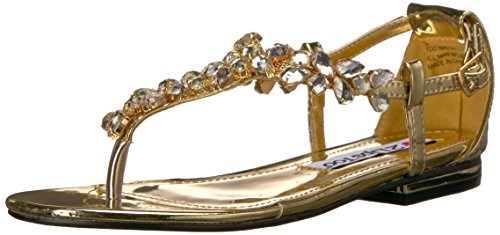 Lips Nikita Too Sandal Too Flat Women Gold 2 UBWT7qcc