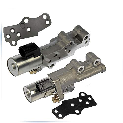Auto Parts Prodigy New Variable Valve Timing VVT Control Solenoid For 02-15 Nissan Infiniti 3.5L Left and Right Side Pair Set Replaces 23796-EA2OB 23796-EA2OA Comes With Gaskets