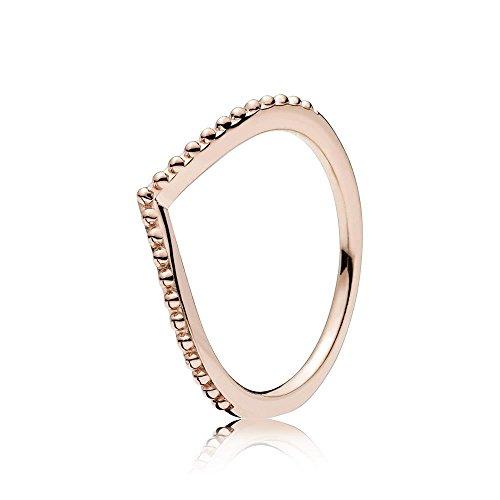 Rings Gold Wishbone (PANDORA Women Vermeil Ring - 186315-52)