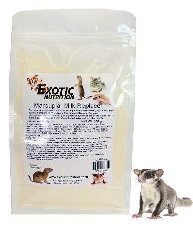 Exotic Nutrition Marsupial Milk Replacer (250 g.) - Milk for Baby Sugar - Formula Sugar Glider