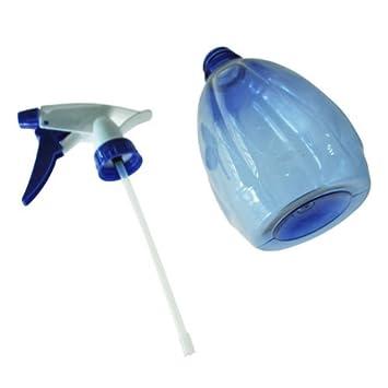 onlinegrocerystore (TM) las plantas de flor de plástico botella de Spray cultivar, azul