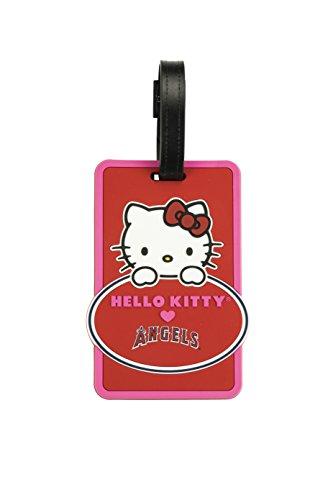 MLB Los Angeles Angels Hello Kitty Peeking Bag Tag