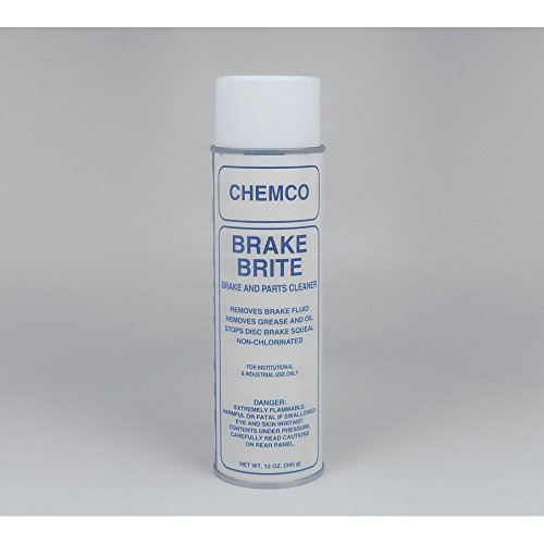 Brake Brite 1, Non-Chlorinated Brake and Parts Cleaner, 12/12 Oz aerosol cans per case by Chemco Industries