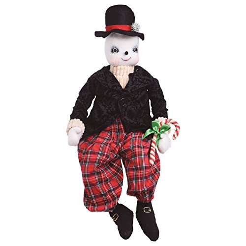 GALLERIE II Byron Snowman Joe Spencer Gathered Traditions Halloween Art Doll