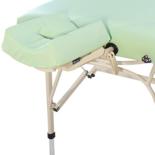 Master Massage Bel Air Ultra Light Weight Aluminum Portable Massage Table Package, Lily Green