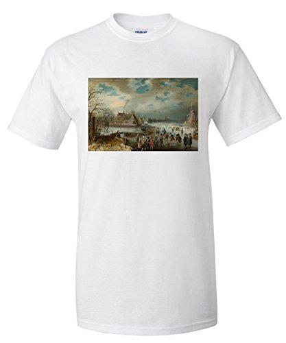 skating-on-the-frozen-amstel-river-masterpiece-classic-artist-adam-van-breen-c-1611-white-t-shirt-xx