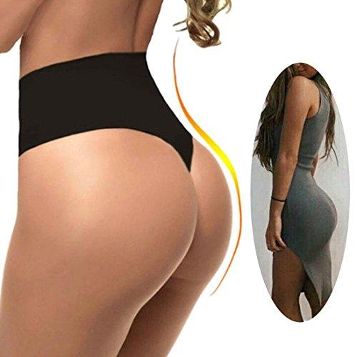b56e72f128 FUT Women Waist Cincher Girdle Tummy Slimmer Sexy Thong Panty Shapewear  Postpartum Underwear