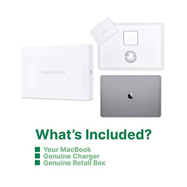 "Apple MacBook Pro | 15.4"" | 2.9GHz 6-core i9 | 512GB Storage | 32GB Memory | Radeon Pro Vega 20 | Space Grey | 2018 | (Renewed) 6"