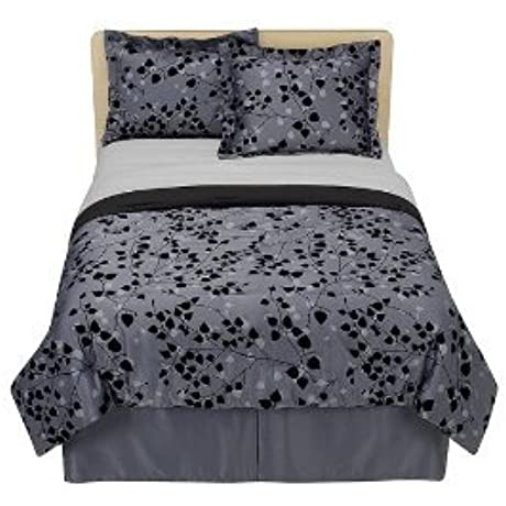 Twilight Bedding Set Black Charcoal BELLA SWAN Movie Comforter Full Size
