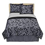 Twilight Bedding Set - Black/Charcoal BELLA SWAN Movie Comforter - Full Size