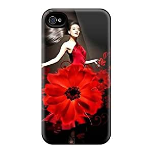 Daisy Girl Case Compatible With Iphone 4/4s/ Hot Protection Case