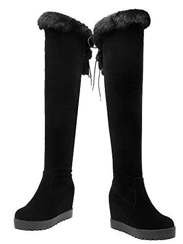 Classic Boot Women's Black AIYOUMEI Black Women's AIYOUMEI AIYOUMEI Classic Boot ERvqwFw