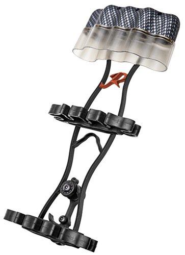 Carbon Express 203373 Rage Cage Quiver 5-Arrow Quiver Black 32200 (Arrow Carbon Quiver)