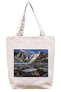 Las montañas - algodón bolsa para herramientas de lona