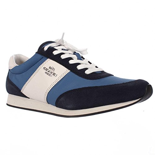 Coach Women s Leather Sneakers A01378