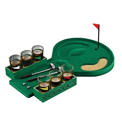 Amazon.com: Golf Juego de beber: Toys & Games