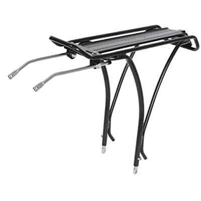 "SUNLITE Gold Tec Lite Rear Rack, 26""/700c, Black : Bike Racks : Sports & Outdoors"