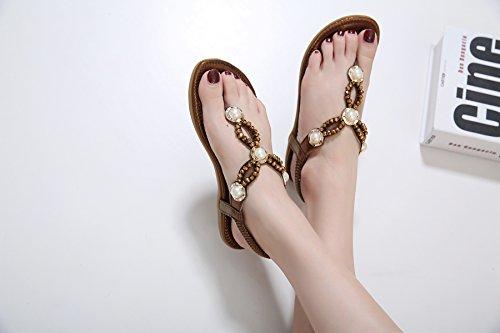 Zoerea femme Marron Sandales Zoerea femme Sandales pour Zoerea pour Marron Sandales ABqw6R5Y