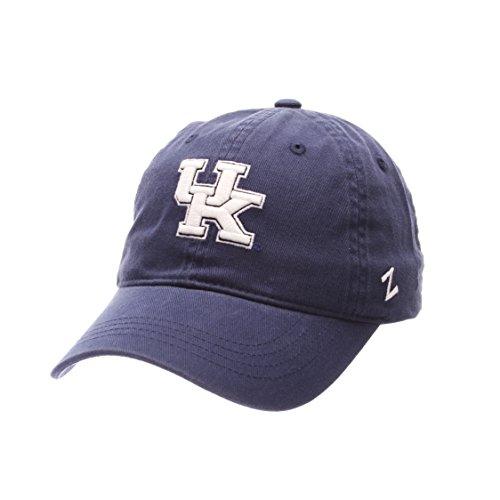NCAA Kentucky Wildcats Men's Scholarship Relaxed Cap, Adjustable, (Relaxed 3d Adjustable Cap)