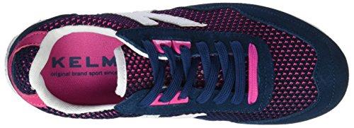 Kelme Passion Mesh, Zapatillas para Mujer Azul (Marino)