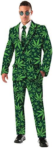 (Forum Novelties Men's Joint Venture Suit Cannabis Costume, Green,)